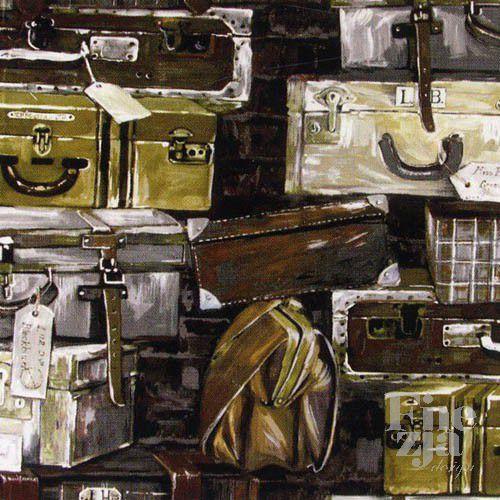 Prestigious Textiles Luggage 1809/118