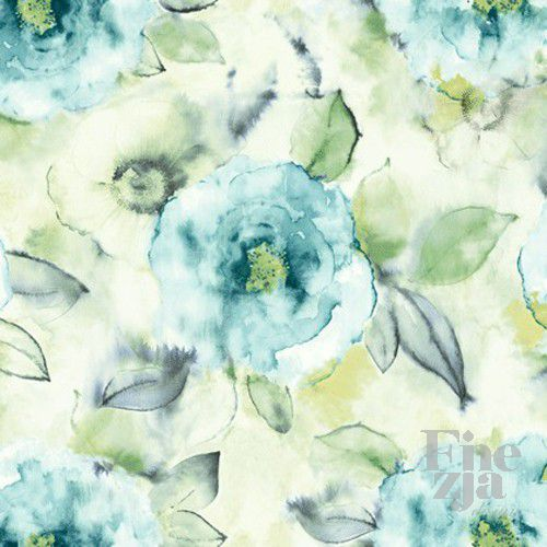Wallquest Big Rose Fabric JA41202F