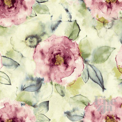 Wallquest Big Rose Fabric JA41209F