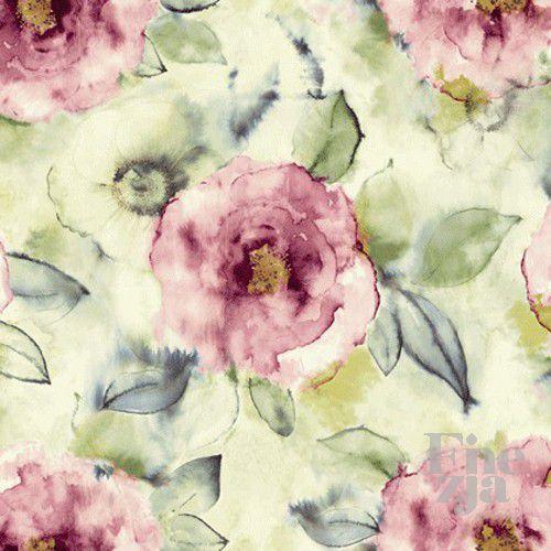 Wallquest Big Rose Fabric JA41209F