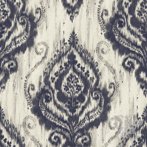 Wallquest Ikat Damask JA32402