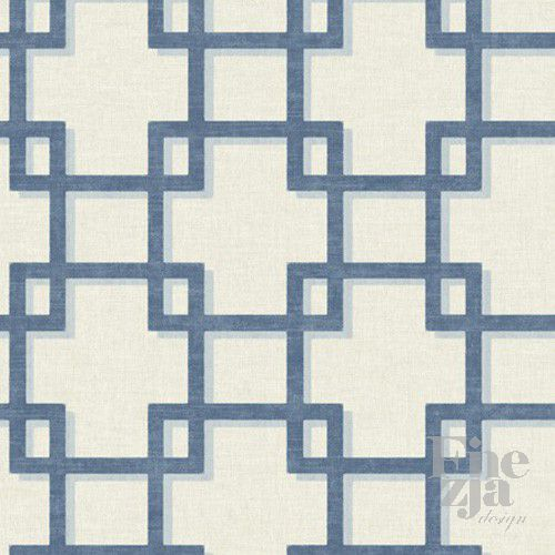 Wallquest Interlocking Squares MO21502