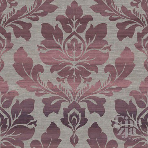 Wallquest Ombre Stripe Damask MO21309