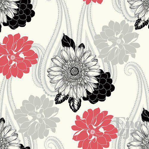Wallquest Black & White BW20801
