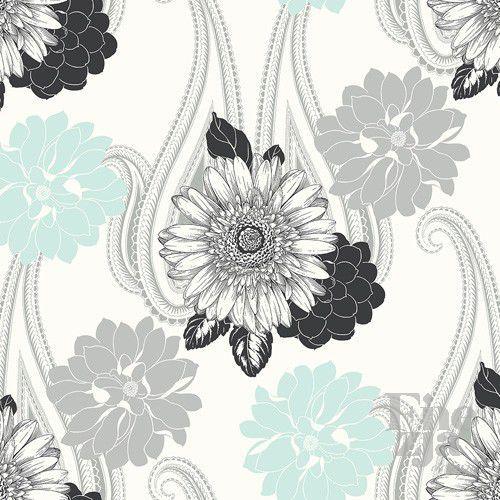 Wallquest Black & White BW20802