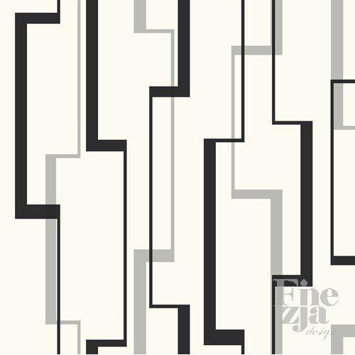 Wallquest Black & White BW23011