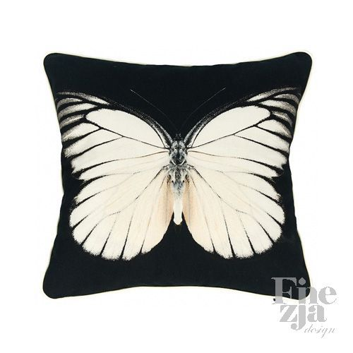 Poduszka White Butterfly